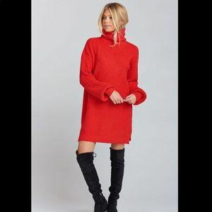 NWOT Show Me Your Mumu chester sweater dress